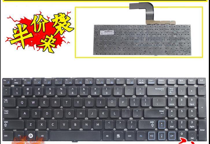 Новая клавиатура для ноутбука Samsung RV511 RC510 RC520 RV520 RV515 RV518 RC512 US Layout