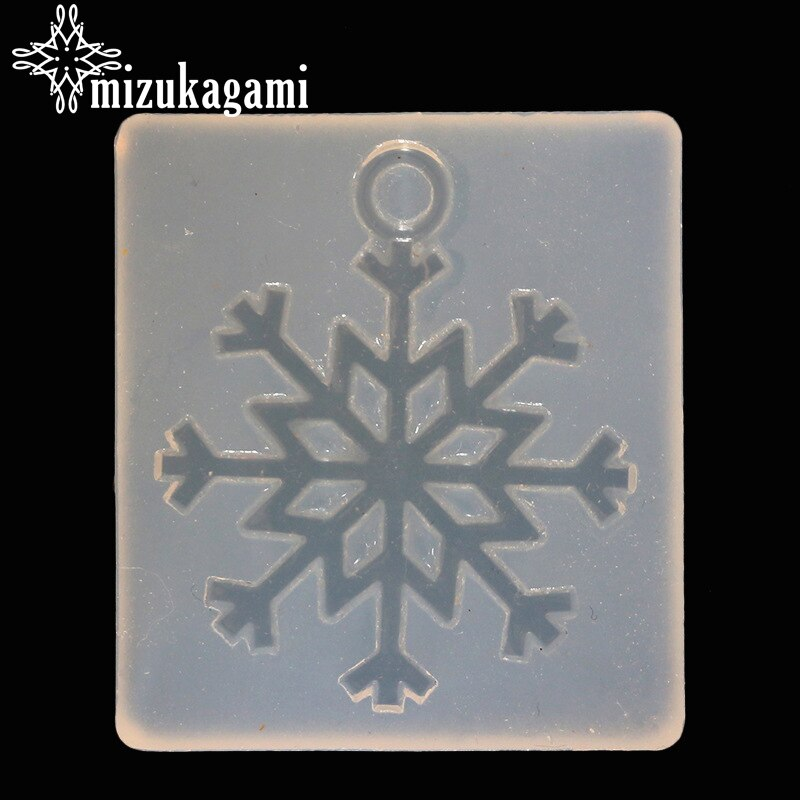 1pcs UV Resin Jewelry Liquid Silicone Mold Big Christmas Snowflake Resin Molds For DIY Necklace Pendant Charms Making Jewelry 1pcs uv resin jewelry liquid silicone mold christmas snowflake resin charms molds for diy pendant jewelry making finding molds