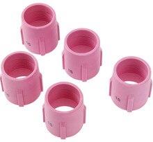 TIG Alumina Nozzle Gas Lens Keramische Cup 53N89 15 # Fit TIG Lastoorts Verbruiksartikelen PTA DB SR WP17 18 26 serie, 5PK