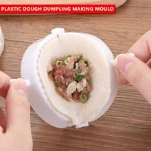 3pcs/set Dumpling Tools Plastic Dumpling Mould Dumpling Maker Dough Pastry Pie Gyoza Mold 3 Sizes Eco Friendly
