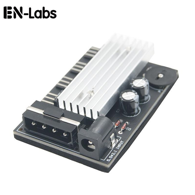 3 way pc cooler cooling 3pin fan speed controller for cpu case hdd ddr graphics card w self stick power molex ide 4pin female Computer PC Case CPU Cooler 3pin cooling fan speed temperature controller, 3 pin Fan Hub Power Supply Splitter by 4Pin or SATA
