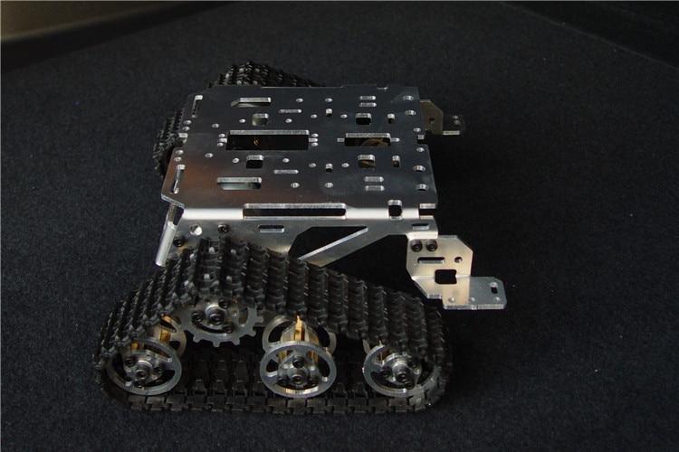 Chassi do tanque do carro esperto da esteira rolante chassi veículos caterpillar parede-e chassi do robô