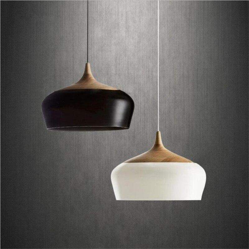 مصباح سقف خشبي حديث ودافئ ، تصميم إبداعي ، إضاءة داخلية زخرفية ، مثالي لغرفة الطعام أو غرفة النوم أو المطبخ أو البار.