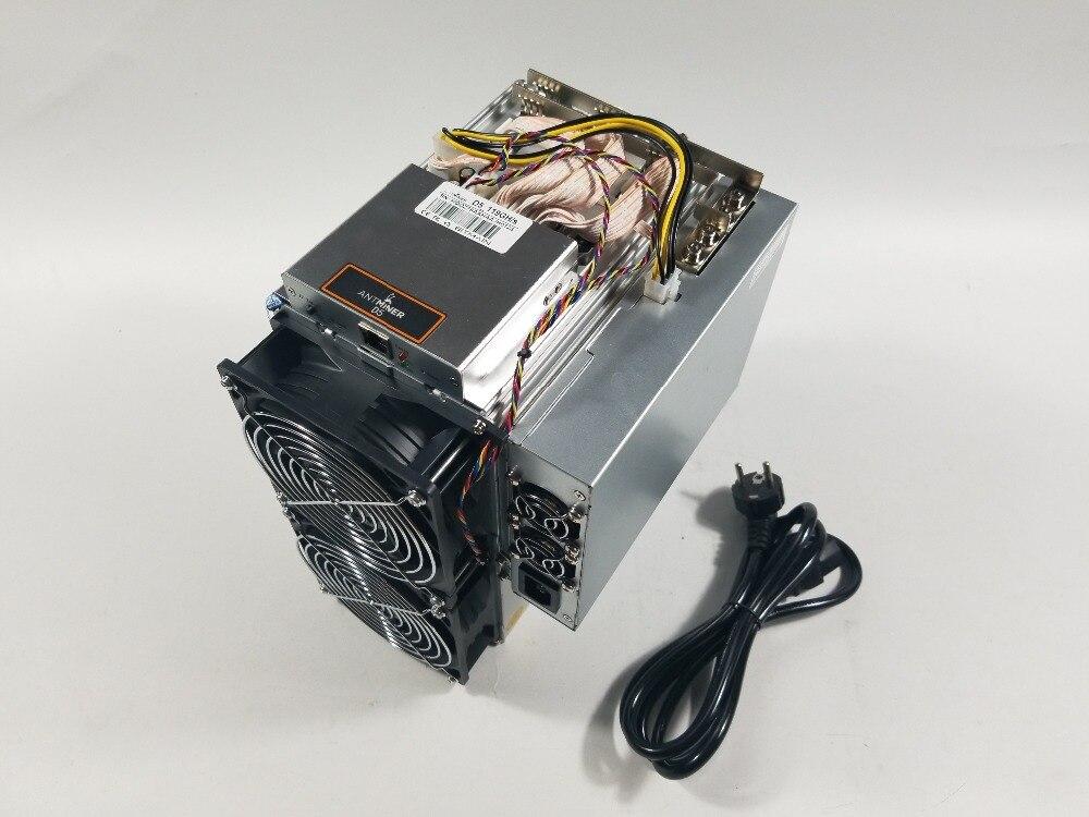شحن سريع BITMAIN أحدث داش مينر Antminer D5 119GH/s X11 مينر أفضل من D3 S9 FusionSilicon X7 StrongU STU-U6