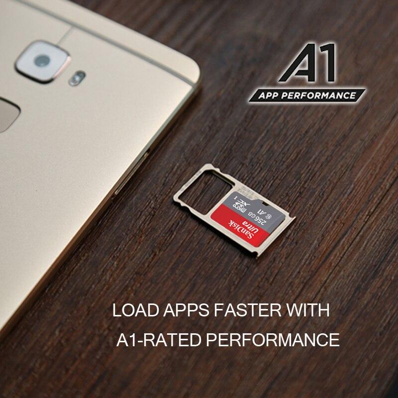 Original SanDisk Memory Card Micro SD Card 32GB 16GB Class 10 MicroSDHC 64GB 128GB 256GB SDXC UHS-I TF Card Read Speed 100Mb/s enlarge