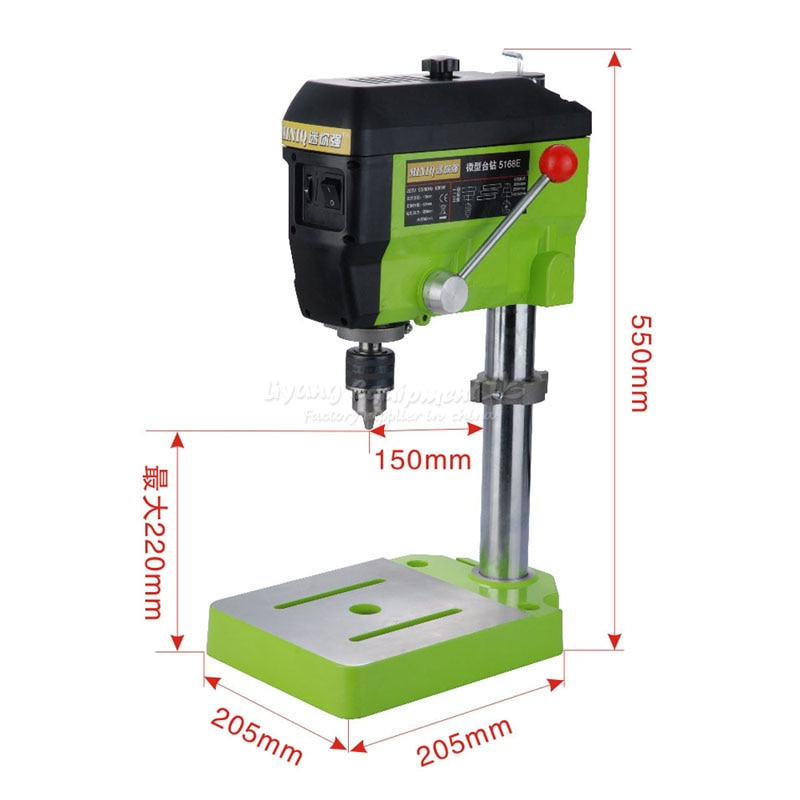 RU no tax 220V Quality Mini Electric Drilling Machine Variable Speed Micro Drill Press Grinder Pearl DIY Jewelry 5168E enlarge