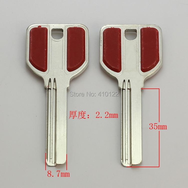 B309 House Home Door Empty Key blanks Locksmith Supplies Blank Keys 15 pieces/lot