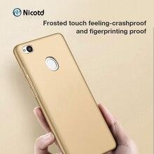 Nicotd Fashion coque pour xiaomi redmi Note 5 pro coque 360 couverture complète PC pour redmi 4X5 plus Note 5A Prime coque de téléphone