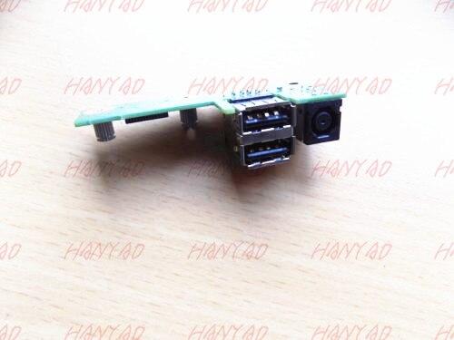 48.4W104.011 conector de alimentación DC placa USB para DELL XPS M1530 1530...