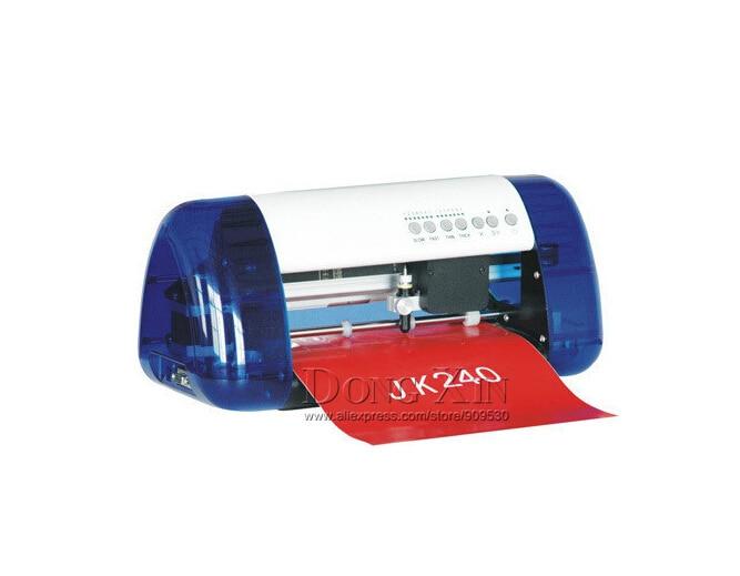 آلة قطع الراسمة لسطح المكتب ، قاطع ليزر pvc مرن ، Cutok DC330 PU ، قاطع فينيل PVC ، مقاس A3