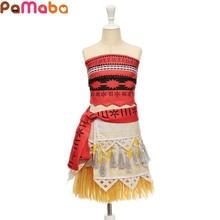 Детский костюм для косплея, летняя пляжная одежда для девочек в стиле «Моана», «Гавайский»