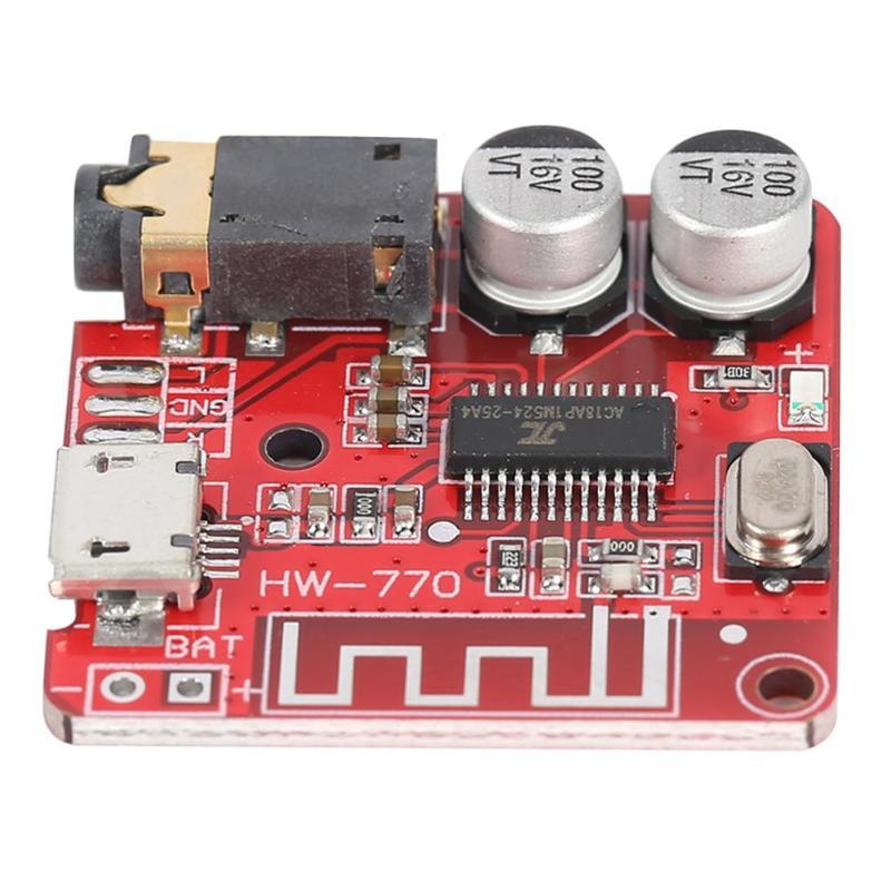 MP3 Bluetooth 4.1 Decoder Board Lossless Car Speaker Audio Amplifier Modified DIY Board Circuit Stereo Receiving Module 5V