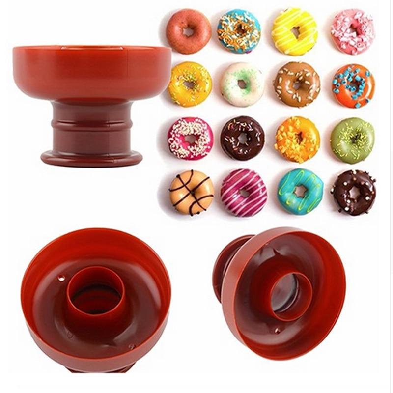 Doughnut Donut Maker Cutter Mold Desserts Sweet Food Bakery Baking Cookie Cake Mould Kitchen Dessert Tool DIY Tool