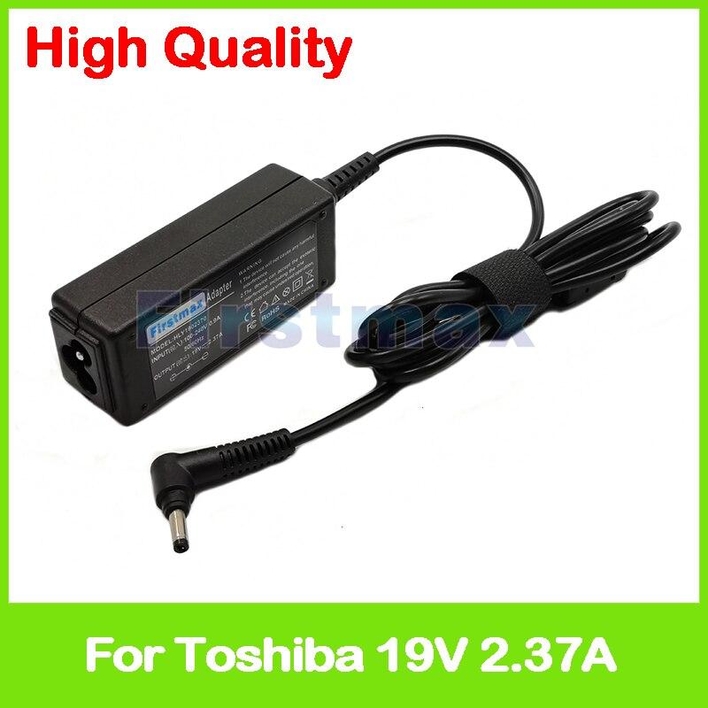 19 V 2.37A PA5072A-1AC3 laptop AC carregador adaptador para Toshiba Portege WT20-B2100 Z10 Z10t-A1110 Z10t-A2110 Z10t-A2111 Z15t-A1210