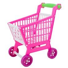 11,8 Mini Simulation Warenkorb Kinder Rollenspiel Spielzeug Kunststoff Montieren/Zerlegen Warenkorb Baby Spielhaus Spielzeug