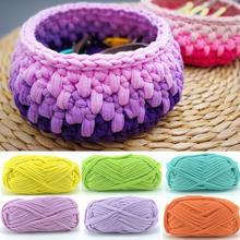 Sewing Accessory Hand-knit Sewing Thread Woven Thread Thick Yarn Basket Blanket Carpets Wool Knitting Braided DIY Crochet Thread
