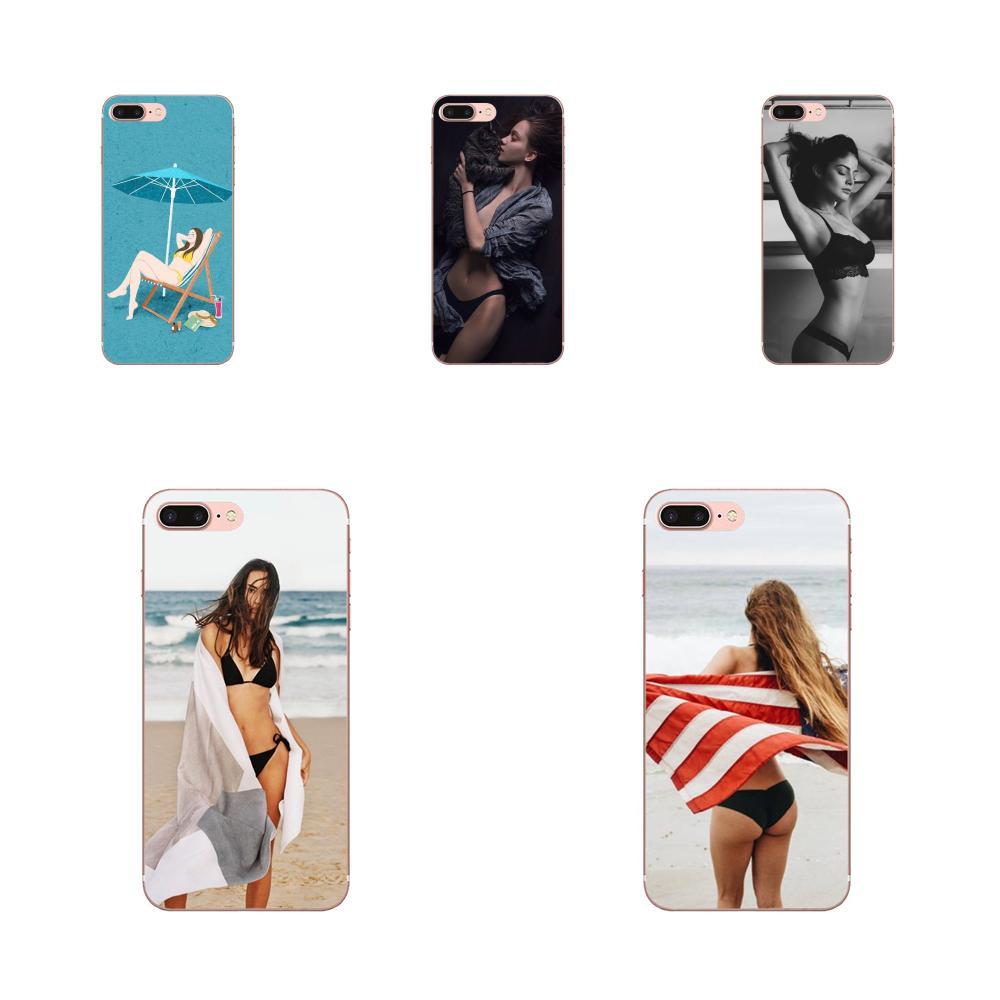 3d Sexy Girl Bikini Padrão Para LG Nexus 5 5X V10 V20 V30 V40 2017 2018 2019 Oferta Especial Telefone caso