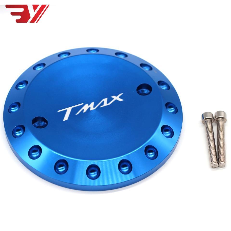 De la motocicleta para Yamaha T MAX 530 2012-2015 TMAX 500, 2008-2011 CNC accesorios tapa protectora para motor TMAX cubierta de estator de motor