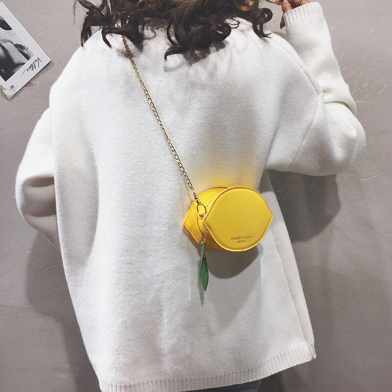 Cute Girl Round Mini bag 2019 Summer New Quality PU Leather Women's Designer Handbag Chain Shoulder Messenger bag Purses Bolsas
