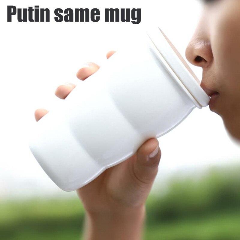 G20, Summit Putin, emperador con el mismo párrafo, Taza de cerámica, cerámica y acero inoxidable 304