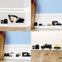 Autocollants muraux en forme de souris réaliste   Autocollants muraux amusants pour pelle sur Rat et souris de fromage, décoration pour chambre denfants et chambre denfants