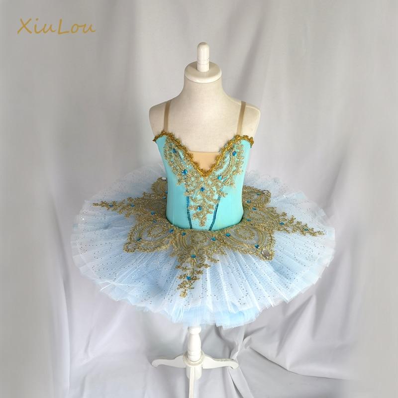 2019 tutú de ballet de lentejuelas para niños y niñas, tutú de ballet profesional para mujeres adulto, trajes de baile de bailarina para niñas, vestido de ballet