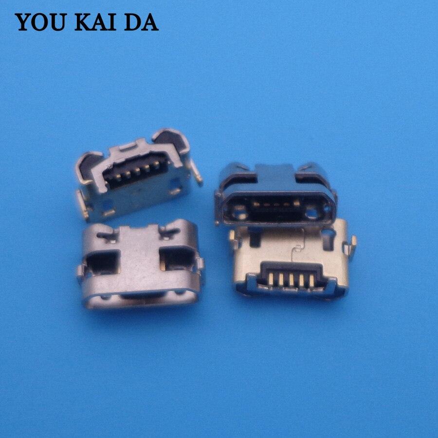 500 Uds para Huawei Y5 II CUN-L01 Mini cargador conector de Puerto de carga Micro USB reemplazo del conector de enchufe