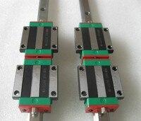 2pcs 100% original HIWIN Linear carriages/blocks HGW25HC # match with HGR25 guide way bearing