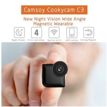 Mini Camera New Camsoy Cookycam C3 Wifi IP control P2P View And Night Vision Wireless Security Micro