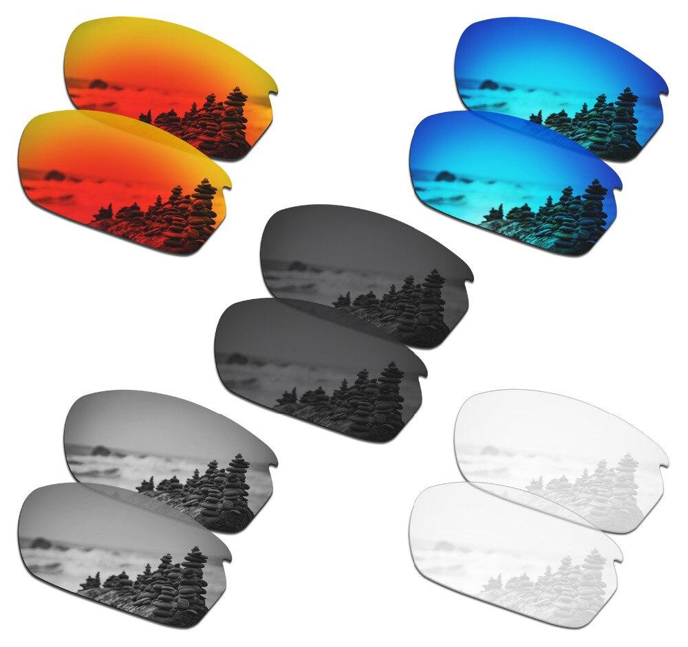 SmartVLT 5 أزواج النظارات الشمسية المستقطبة استبدال العدسات ل أوكلي الكربون التحول-5 ألوان