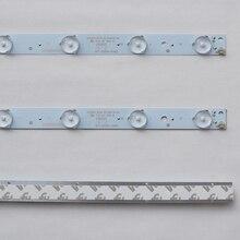 10 unids/lote 32 pulgadas 26-60 pulgadas LCD TV LED lámpara General modificado lente LED lámpara de aluminio 10 lámpara 56,5 CM 100% nuevo