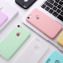 Original Soft Silicone Case for iPhone 8 7 6 6S Plus 5 5S X XR XS Max 8Plus 7Plus Phone Cases Cute C
