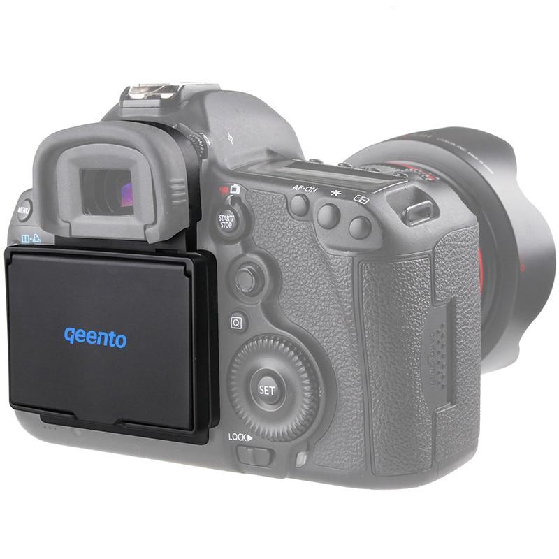 Qeento Protector de pantalla LCD Pop-sol sombra lcd Hood escudo funda para cámara Digital CANON 5DIII 5D3 MARK III 3
