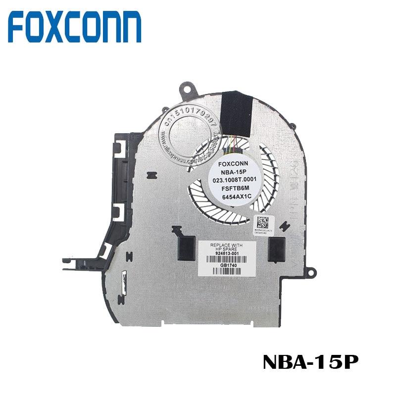 FOXCONN CPU COOLING FAN FOR HP Pavilion x360 15 924513-001 023.1008T.0001