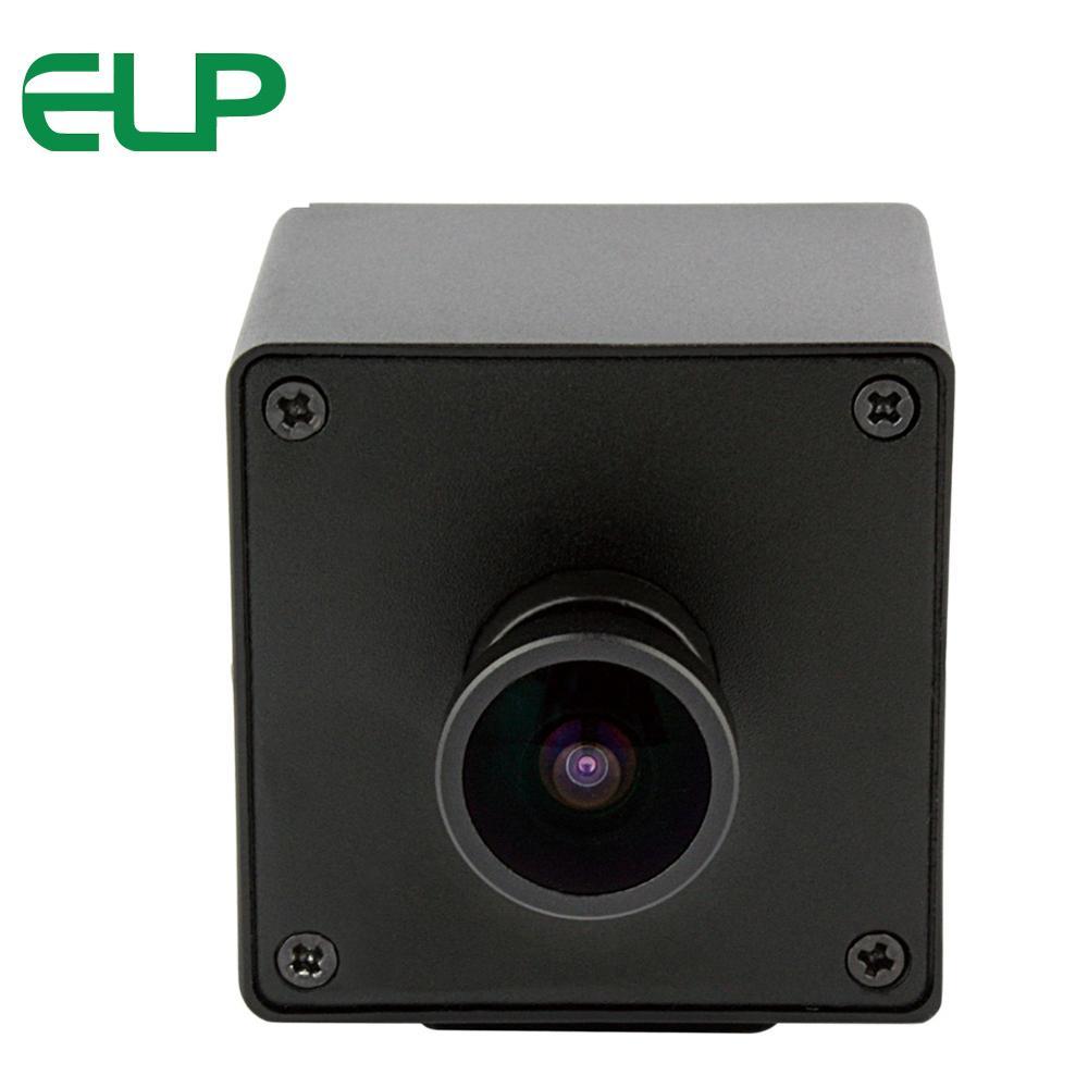 Cámara Web USB ojo de pez gran angular 3264X2448 de 8,0 megapíxeles Mjpeg YuY2 Sony IMX179 Mini estuche de vigilancia con cámara USB