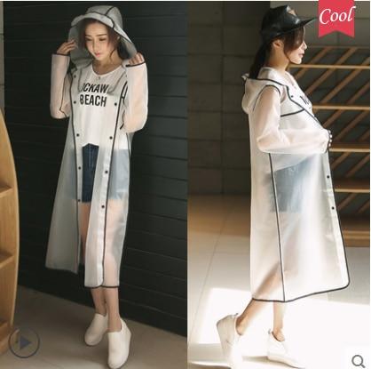 Chubasquero impermeable largo para hombre y mujer, poncho impermeable, capa de chuva