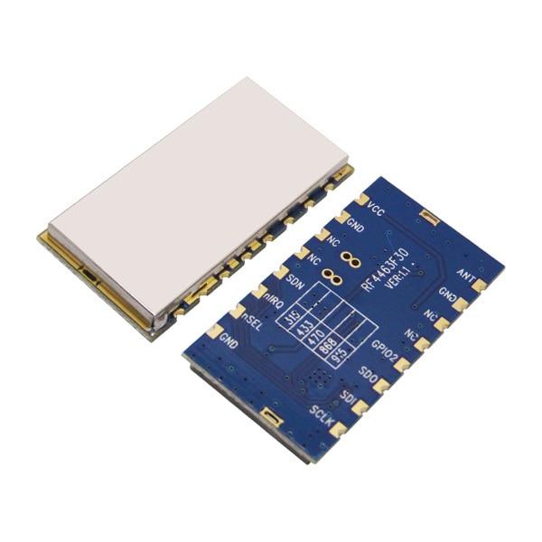 4 unids/lote RF4463F30-módulo de control remoto inalámbrico integrado de 3000 m, 500mW 868mhz Si4463 módulo receptor transmisor inalámbrico RF