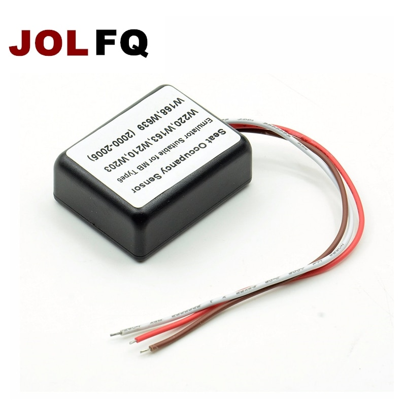 JOLFQ датчик заполнения сиденья Эмулятор подходит MB Тип 6 SRS для mercedes для benz W220 W163 W210 W203 W168 W639 2000-2005