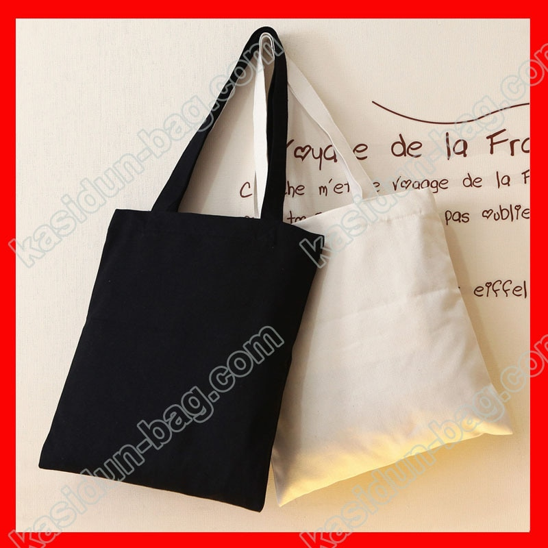 (200 pieces/lot)  size 25x35 eco blank cotton shopping bag