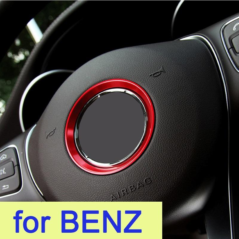 Etiqueta do volante do carro para benz glk gla glc c200l c260l glc260 e300l a b c e classe c180 220 para mercedes-benz acessórios
