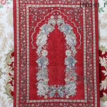 Venta al por mayor del culto musulmán alfombra de oración Salat Musallah cobija de oración Tapis Tapete de alfombra Banheiro de oración mat 70*110