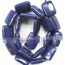 "Free shipping Jewelry 00572 new Lapis Lazuli 20mm roundel Beads 15.5""5pc"