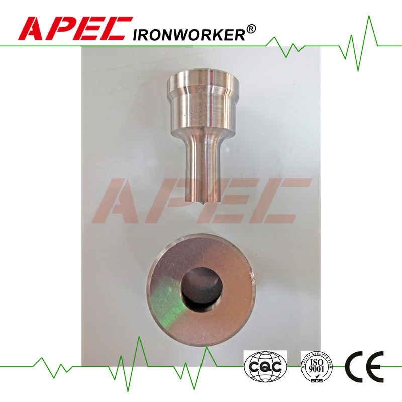 Perforadora de hierro hidráulica APEC troquelada/oblonga perforada (6,8, 10,12, 14,16, 18,20, 22mm.)