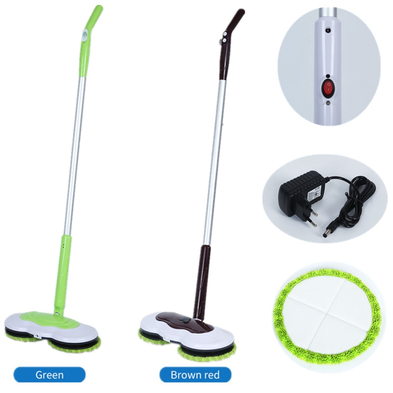 Máquina de limpar piso sem fio elétrica