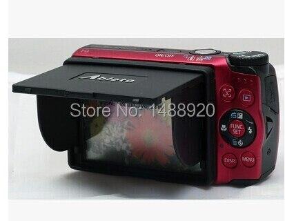 Parasol de pantalla Lcd para protector de pantalla NIKON COOLPIX S8200/S6100/S7000/S9700/S9600/ s6800/S5300/AW130S/AW120S/
