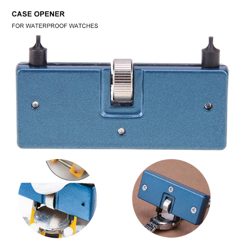 Watchmaker Watch Tools Watch Back Case Opener Screw Wrench Cover Remover Battery Change Watch Repair Tool Kit Watchmaker Tool watch bezel inserts watch tools watch back watchmaker press repair tools kit watches case crystal glass press tools set
