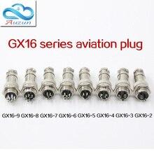 Cinque PCS aria apertura del diametro 16mm nucleo GX16 2 pin del connettore comune/3 core/4 core/5 core/6 core/core/7 core/8 core/9cor