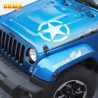 bawa car stickers for jeep wrangler 4949 star words discovery un sahara stickers for cars styling car sticker