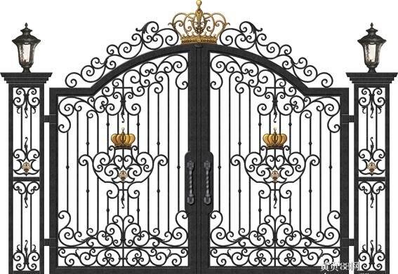 Puerta de entrada de hierro precios puertas de acero forjado puertas de acero para el hogar