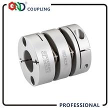 Coupleur à couple élevé D26 L35   Alésoir intérieur à double diaphragme, disque de couplage 5-14 disque de couplage élastique, moteur torsionnel flexible, moteur GCPW